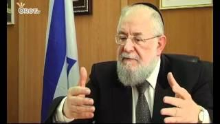 ערוץ אורות-הרב ישראל מאיר לאו מגיב על הטרגדיה ברחובות
