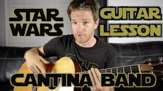 Star Wars Cantina Band Guitar Lesson, Part 1