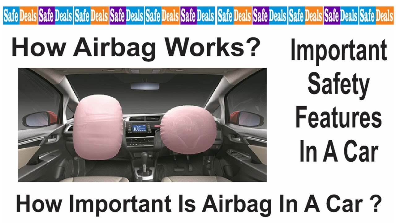 car safety the importance of air bags The importance of airbags by brenda williams | submitted on july 10, 2008 an airbag, also known as supplemental restraint, is designed to protect drivers from making a hard impact during a car accident.