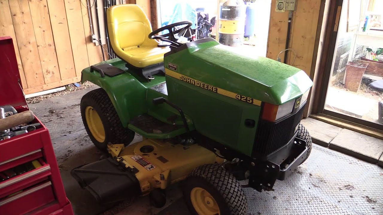 Jd Update Part 1 John Deere 425 Implements Youtube