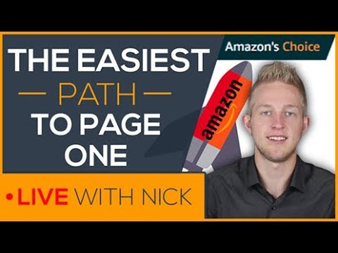 You MUST Be On Page One To Have A Successful Amazon FBA Product   Live With Nick Bosch