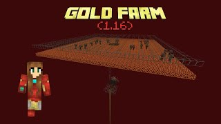 AFK Gold farm Tutorial for Zombie Piglins (1.16)