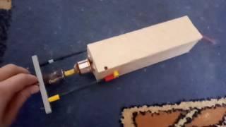 Шлифовальная машина своими руками с бк движком