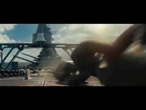 映画「バトルシップ」最後の戦闘シーン\u203b吹替え