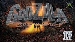 "Part 13 ""1-Player Destruction"" - Godzilla: Destroy All Monsters Melee [Xbox]"