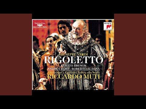 Rigoletto: Riedo!... perché?