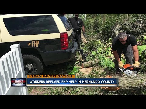 Workers refused FHP help in Hernando County