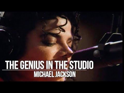 Michael Jackson Rare Audio The Genius in the studio