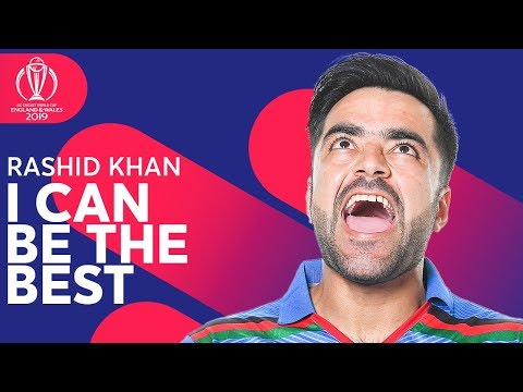 """Rashid Khan: """"I Can Be the BEST!"""" 