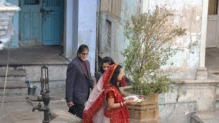 Amitabh shoots in Gujarat