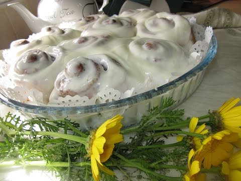 Рецепт- Синнабоны американские булочки с корицей