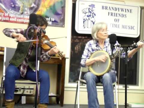 Hilary Dirlam and Clare Milliner play Nepalese tune Banjo and Fiddle