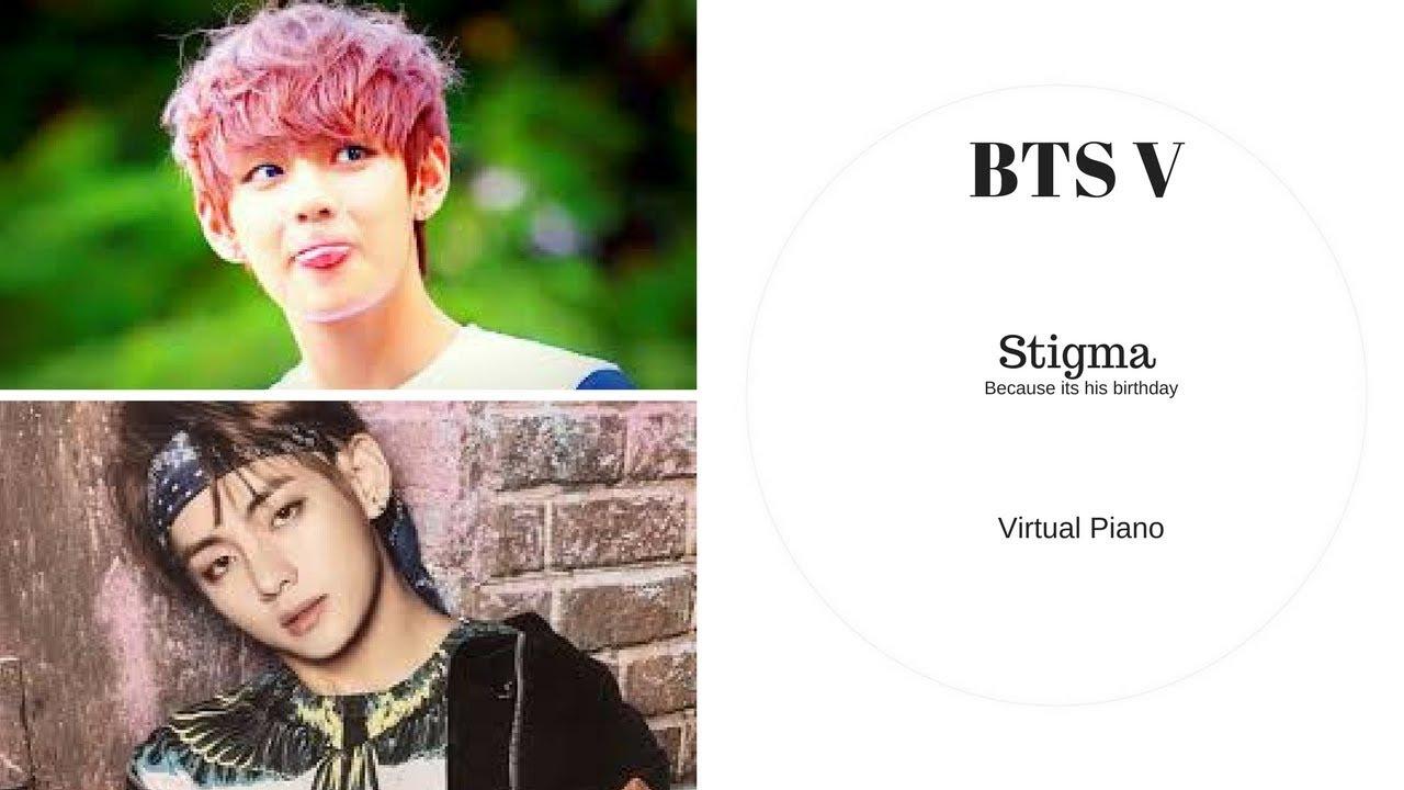 BTS V- Stigma || Roblox Piano