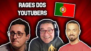 MELHORES AZIAS DOS YOUTUBERS PORTUGUESES (RAGES)