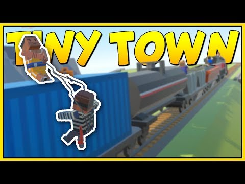 THE GREAT TRAIN HEIST! - Tiny Town VR Gameplay - VR HTC Vive