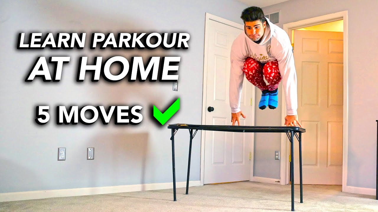 Learn 5 Easy Parkour Tricks – Inside The House ASAP