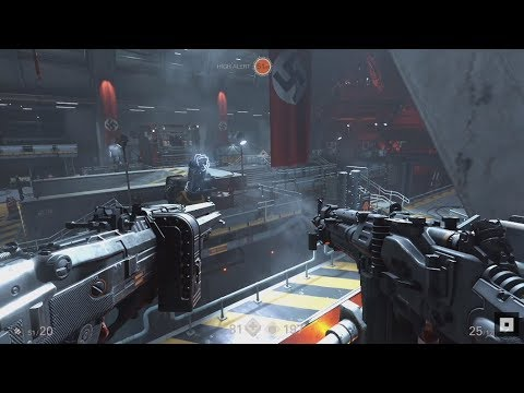 Wolfenstein II: The New Colossus Gameplay Pc |