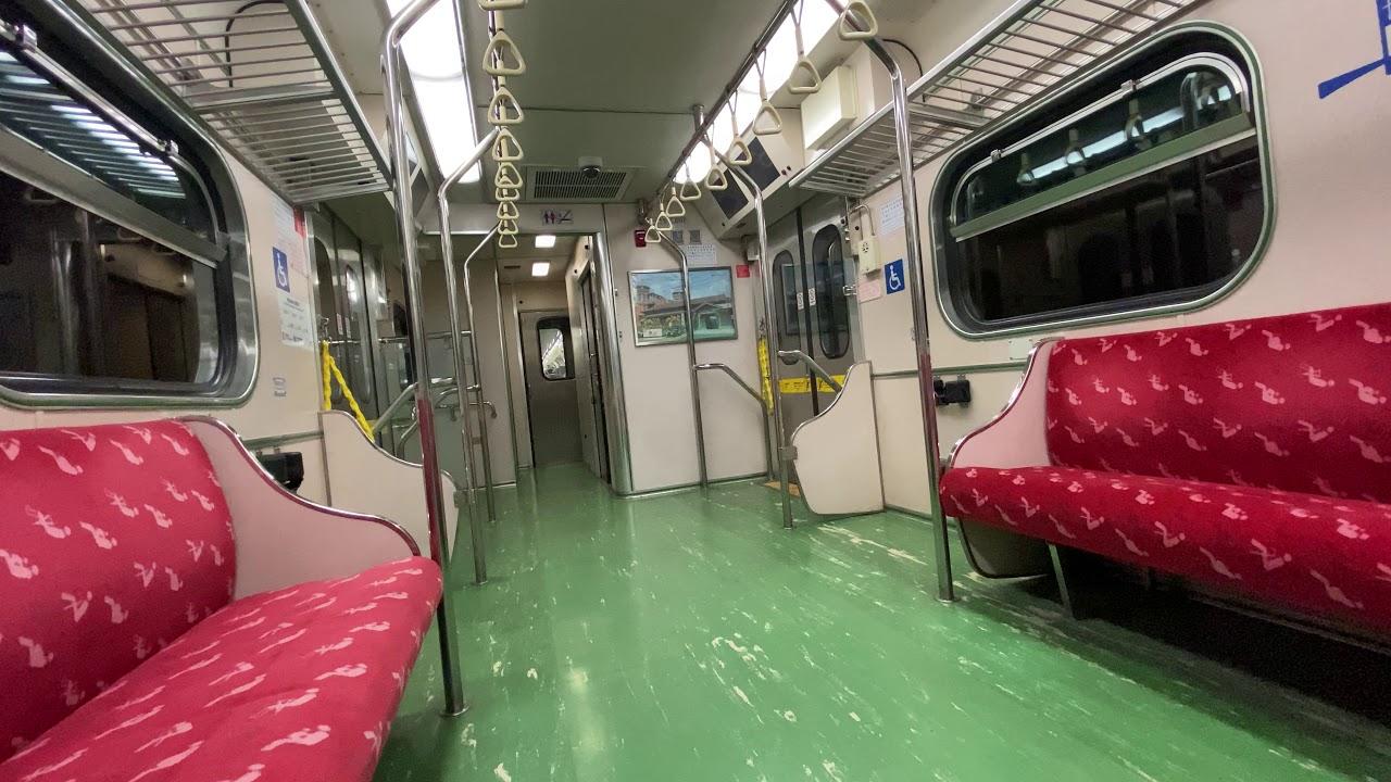 臺鐵 EMU600區間電聯車 臺北地下段 車廂內行走音 - YouTube