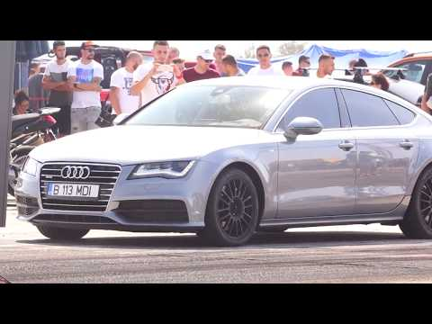 AUDI A7 3.0D QUATTRO 500HP vs AUDI 90 S2 ENGINE TURBO 800HP