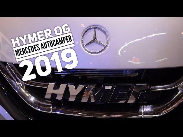 Hymer og Mercedes autocamper 2019