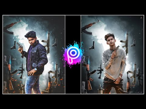 Gangster Photo Editing Tutorial In PicsArt || Gangster Special Photo Editing Tutorial ||-Tiger Editz