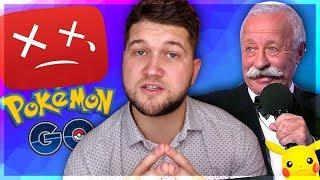 ЮТУБ УДАЛЯЕТ каналы о Pokemon Go | Куда пропадает еда с Поле Чудес | 39 лет в тюрьме