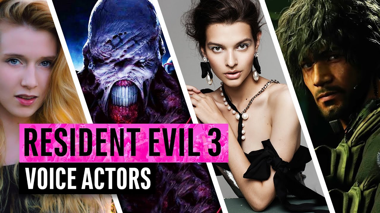 Resident Evil 3 2020 The Voice Actors Behind The Characters