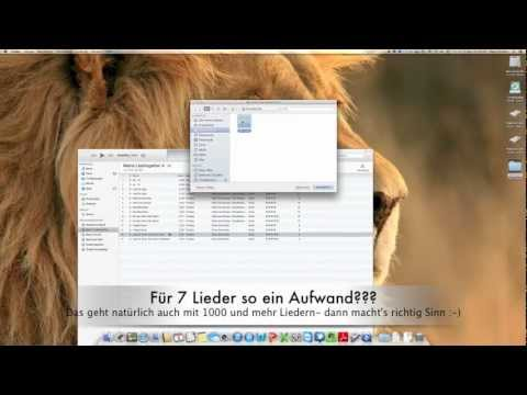 Automator AAC to mp3 Teil2