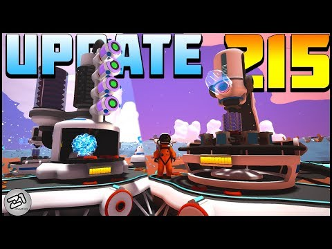 Astroneer Update 215 ! New Hydrazine Catalyzer and Mineral Extractor, Excavation Update ! Z1 Gaming