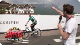 Thomas Müller kann`s nicht lassen - Luke am Hotel des DFB-Teams - LUKE! Die WM und ich