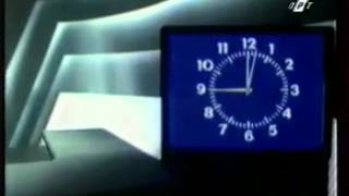 Часы ОРТ (1994-96) + заставка программа время (1996-1999)