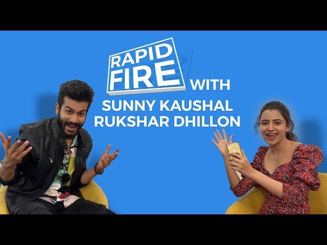 Bhangra Paa Le: Sunny Kaushal & Rukshar Dhillon | Rapid Fire Challenge | Bollywood Life
