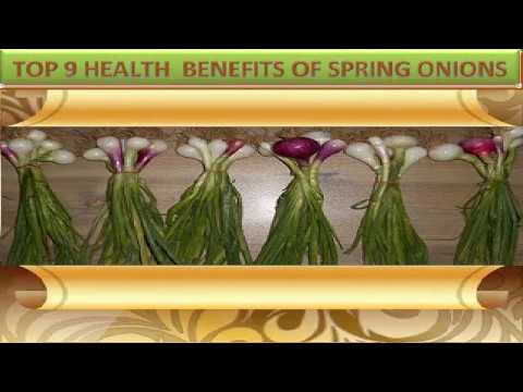 Top 9 Health Benefits Of Spring Onion(Scallion)