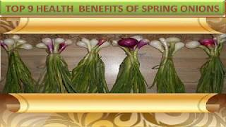 Top Health Benefits Spring Onion Ion