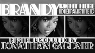 "Brandy - ""Right Here (Departed)"" [REMIX: Instrumental, prod. by Jonathan Gardner]"