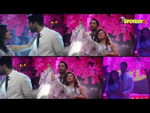 Shaheer Sheikh-Drashti Dhami Recreate Shahrukh Khan & Kajol's Gerua Magic   TV   SpotboyE