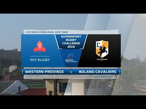 SuperSport Rugby Challenge | DHL Western Province Vs Boland Cavaliers