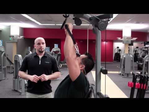 Bowflex Xtreme Home Gym - Shoulder Press Technique