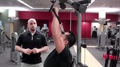 Bowflex Xtreme Home Gym - Shoulder Press Technique