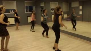 Уроки танцев. Зажигательная ЛАТИНА СОЛО в Нижневартовске