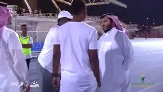 عثمان مالي يتحدث عن زيارة معالي المستشار تركي ال الشيخ