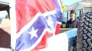 School tells student to remove Confederate Flag from Truck