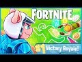 CHALK OUTLINE VICTORY ROYALE in Fortnite: Battle Royale! (Fortnite Funny Moments & Fails)