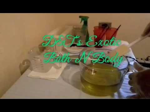 Making & Cutting Teakwood & Cardamom Soap.