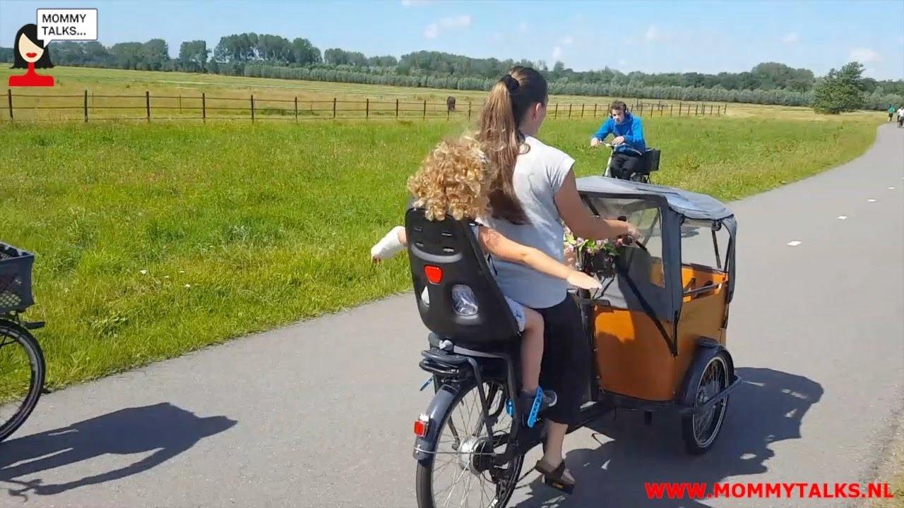 da71c97c140 Thule Yepp Nexxt Maxi fietsstoeltje reviewvideo door Mariska - YouTube
