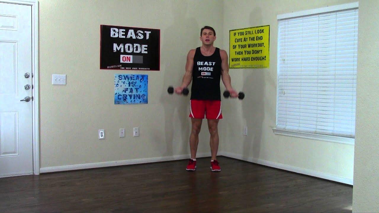 9 Min Arm Workout - HASfit Arm Exercises - Biceps Triceps Workouts - Arms Exercise - Arms Work Out