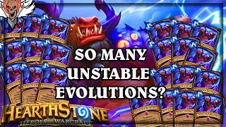 So Many Unstable Evolution 🍀🎲 ~ Hearthstone The Boomsday Project