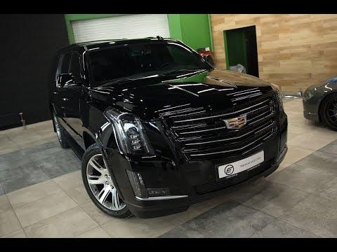 Cadillac Escalade | Антихром фар и птф