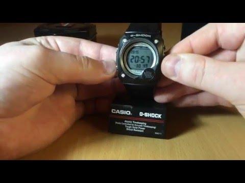 Обзор и настройка часов Casio G shock G - 8000-1V [2958]