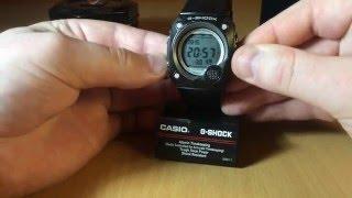 Огляд і налаштування годинника Casio G-shock G-8000-1V [2958]